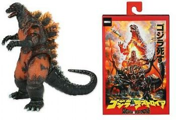 "NECA Godzilla 1995 Burning Godzilla Vs Destoroyah 12"" Action Figure"